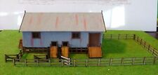 SHEARING SHED 'Wangaratta' 2 stand 19x10x9cm HO 1/87scale Laser cut Wood kit MTB
