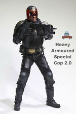 Art Figures 1/6 Dredd Judge Alvarez Heavy Armoured Special Cop 2.0 Box_Set Model