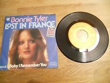 BONNIE TYLER LOST IN FRANCE / BABY I REMEMBER YOU 1976 RCA RECORDS GERMANY USED*