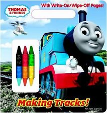 Making Tracks! (Thomas & Friends) (Write-On/Wipe-Off Activity Book) by Awdry, R