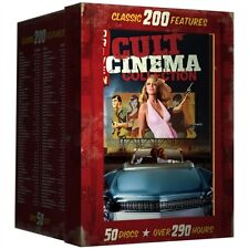 CULT CINEMA COLLECTION 200 CLASSIC FEATURES New Sealed 50 DVD Set