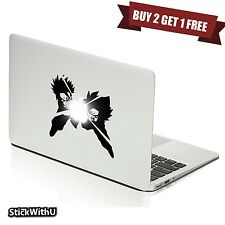Macbook Air Pro Vinyl Skin Sticker Decal Dragon Ball Anime Goten Trunks m1012