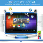 7 inch Google Android 4.2 Tablet PC 4GB Wi-Fi Front Camera W/O Keyboard Bundle