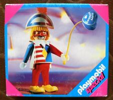 NEW PLAYMOBIL Clown with Happy Birthday Balloon #4601 Retired HTF