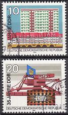 DDR 1984 Mi. Nr. 2888-2889 gestempelt