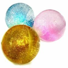 Glitter Bouncy Ball Sensory Toy - Fiddle Fidget Stress Sensory Autism ADHD