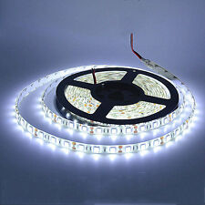 White 5M Waterproof 300 LED 5050 SMD Flexible LED Light Lamp Strip DC 12V