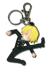**License** One Piece PVC Keychain SD Sanji Kick #4885