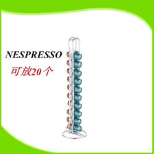 Stainless Steel  Nespresso Coffee Capsules Holder Carousel,Holds 20 Coffee Pods