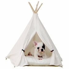 little dove Pet Teepee Dog Pet Supplies Tent Dog Bed Cat Mat Sofa Dog House Dog