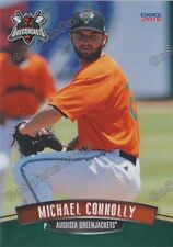 2016 Augusta Greenjackets Michael Connolly RC Rookie Giants