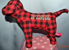 """Victorias Secret Pink GIANT 10"""" x 13"""" Mini Giant Dog Limited Edition Red NWT"""