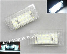 For BMW E46 Coupe License Number Plate Error Free LED Light lamp M3 2004 05 06