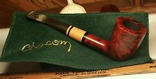 Chacom ACAJOU 33 - Vintage Tobacco Smoking Pipe Made in France w/ Pouch