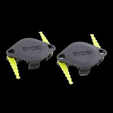 Ryobi DUAL BLADED LINE TRIMMER HEADS 2 PCs, Strong & Durable Japanese Brand