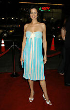 CATHERINE BELL 8x10 sexy baby blue dress