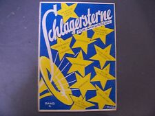 Schlagersterne Fur Akkordeon German Accordion Song Book Sheetmusic Foxtrot Tango