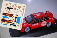 DECAL CALCA 1/43 MITSUBISHI LANCER WRC T.GARDEMEISTER RALLY MONTE CARLO 2007
