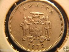 1972 JAMAICA 5 CENT