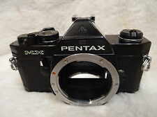 rare full black Vintage Pentax MX 35mm SLR Film Camera Body Only Top quality
