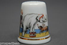 Special Offer TCC Royal Dux 'The Circus' 1993 China Thimble B/54