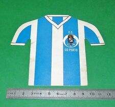 RARE AUTOCOLLANT STICKER MAILLOT FOOTBALL 1984 FC DO PORTO PORTUGAL PANINI