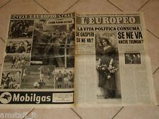 EUROPEO 1951/11=DINA GALLI=CECILIA LURANI GREPPI=PIA BELLENTANI=CHATEAUBRIAND