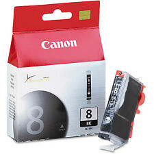 Genuine Canon CLI-8 BK Black Ink Cartridge Pixma MP970 MX850 Pixus iP7500
