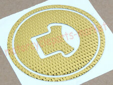Gold Motorcycle Fuel Gas Cap cover pad sticker Decal For Honda CBR250R 2010-2013