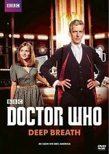 DOCTOR WHO - DEEP BREATH 2014 dvd PETER CAPALDI Jenna Coleman