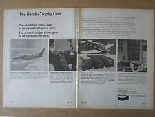 4/1968 PUB BENDIX AUTOMATIC FLIGHT CONTROL SYSTEM WEATHER RADAR COM/NAV AD