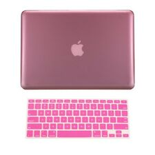 "2 in1 PINK Crystal Case for NEW Macbook Pro 13"" A1425 Retina display +Key Cover"
