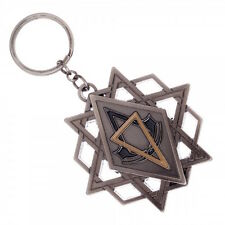 Assassins Creed Movie Symbol Pentagram Metal Keychain Key Ring