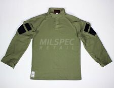 Drifire Paraclete OD Green Tactical Combat Shirt USA Made XL-R Flame Resistant