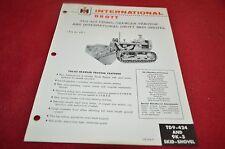 International Harvester TD-9 Crawler Loader Dealers Brochure AMIL12 Ver438-F