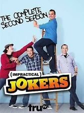 Impractical Jokers: The Complete Second Season 2 (DVD, 2014, 3-Disc Set) NEW   X