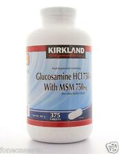 Kirkland Signature Extra Strength Glucosamine HCI 750mg with MSM 375 Tablets