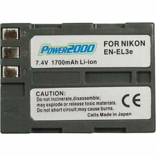 Power2000 EN-EL3E ENEL3E Rechargeable Battery for Nikon D90, D300S, D700, D50