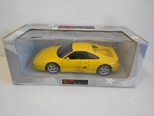 UT MODELS/PAULS MODELS 1:18 SCALE FERRARI F355 BERLINETTO - YELLOW - NEW IN BOX