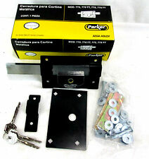 Parker Lock For Metal Curtain Cerradura Para Cortina Metalica 775TT Slides w Key