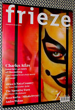 2011 FRIEZE MAGAZINE, CHARLES ATLAS, Sarah Lucas, Nancy Spero, Paul Chan