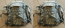2 ARMY ACU DIGITAL MOLLE II LARGE RUCK SACK FIELD PACK FRAME SUSTAINMENT POUCHES