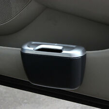 Car Trash Can Bin Garbage Storage Box Multifunction Vehicle Container Dustbin