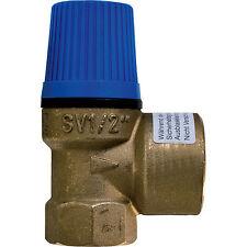 """WATTS Membran Sicherheitsventil Überdruckventil Wasser 1/2"""" x 3/4"""" - 6 bar"""