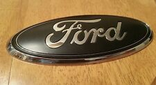 "2011-2014 Ford EDGE liftgate (Rear) emblem,  Matte black 7"" 3D"