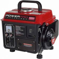 Portable Gas Generator 1000 Watt Camping Tailgating Emergency Home Power Quiet