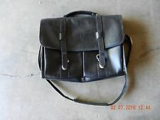 Men's Business Black Leather Handbag/Messenger/Briefcase Shoulder Bag
