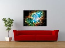 CRAB NEBULA SUPERNOVA HUBBLE SPACE GIANT ART PRINT PANEL POSTER NOR0069