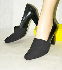 MICHAEL TOSCHI / ITALY / CLASSIC PUMP IN BLACK / 37 M / EXCELLENT