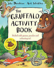 The Gruffalo Activity Book, Julia Donaldson, New Book